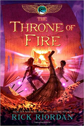 The Throne of Fire Audiobook Free